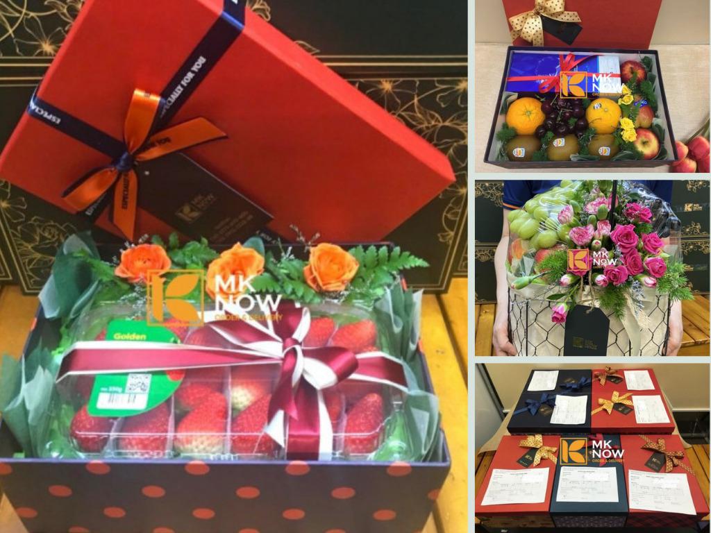 MKNow giới thiệu dịch Điện set quà tặng trái cây trao gửi khách hàng tận nhà ở các quận TPHCM