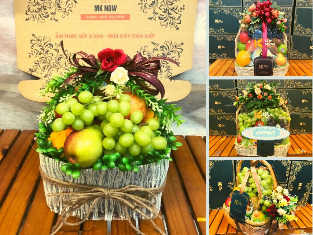 Giỏ trái cây quà tặng nữ y bác sĩ điều dưỡng nhân ngày 20/10 tạ MKNow