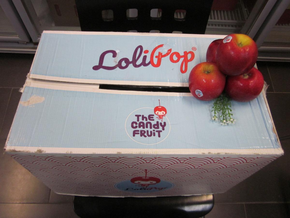 Đặt mua táo kẹo Lollipop Pháp TPHCM cùng MKnow