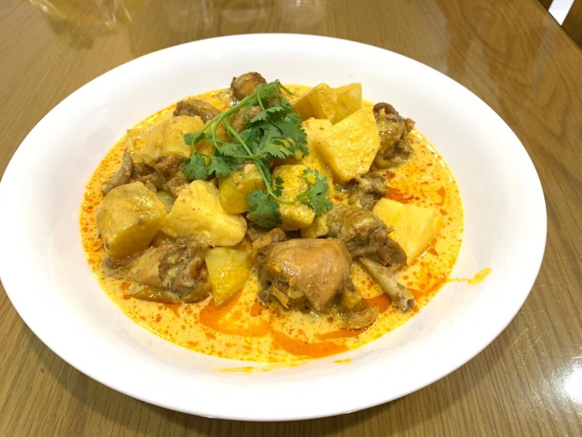 Cà ri gà khoai tây - Chicken curry - MKnow