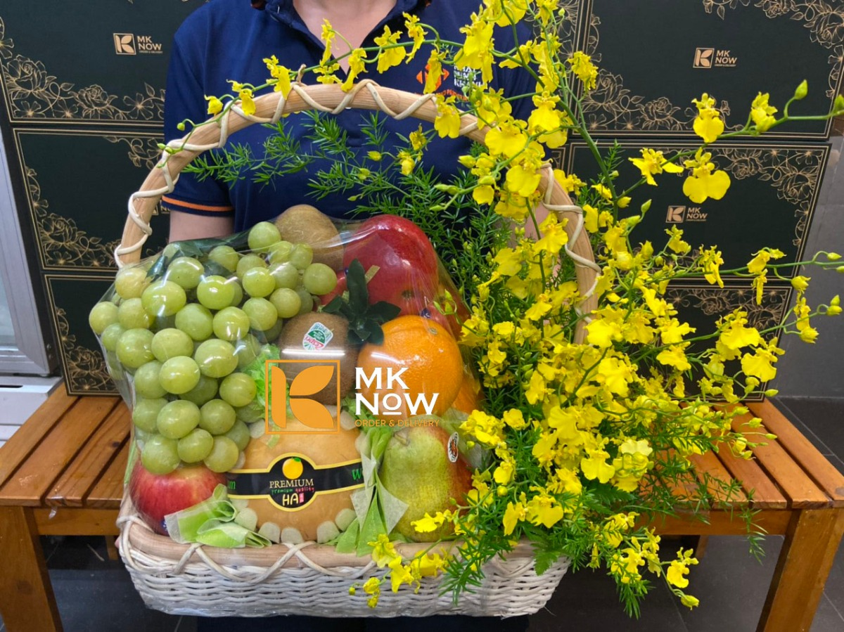 Top 20 mẫu giỏ quà trái cây sang trọng và ấn tượng của MKnow tặng khách hàng, đối tác dịp khai trương