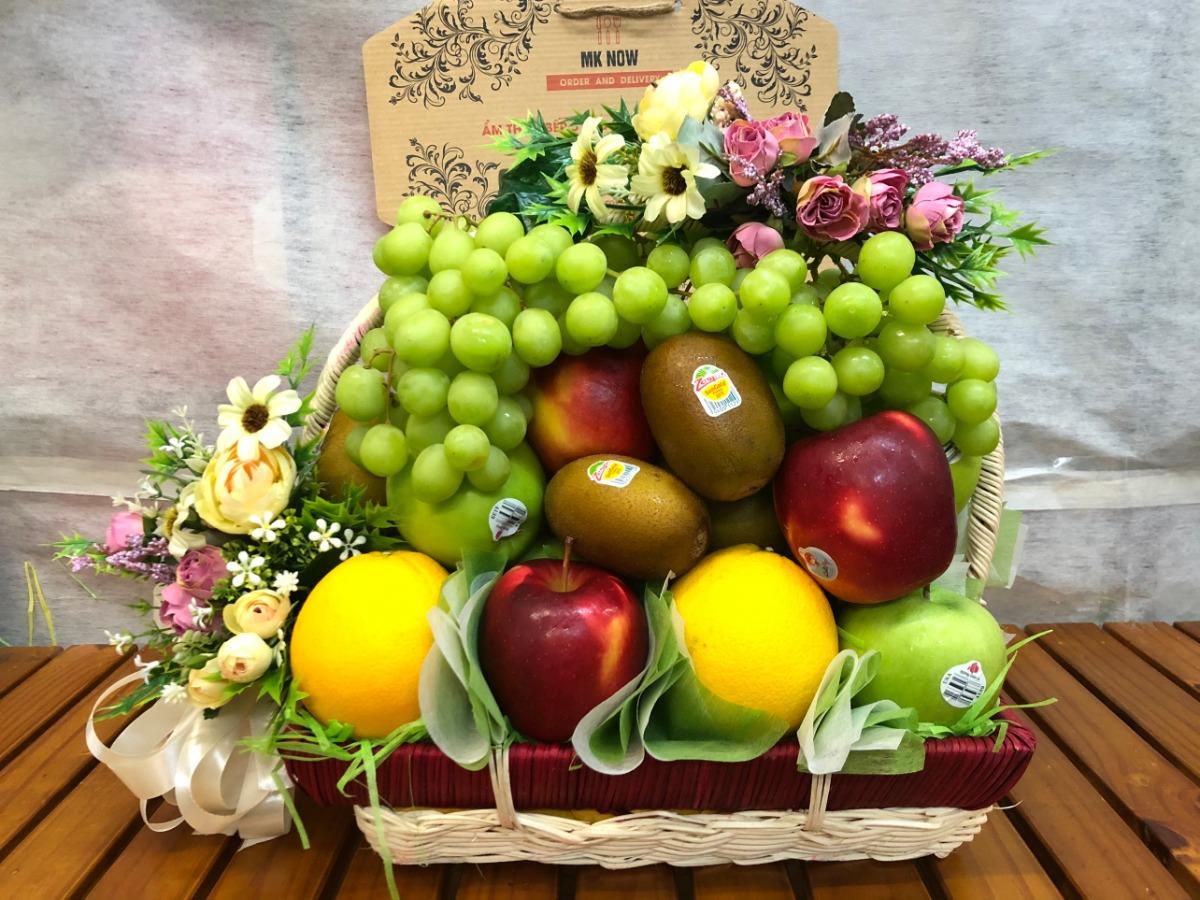 Giỏ quà Tết trái cây nhập khẩu - FSNK118