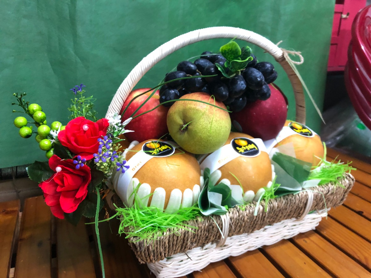 Giỏ quà trái cây đẹp - FSNK62