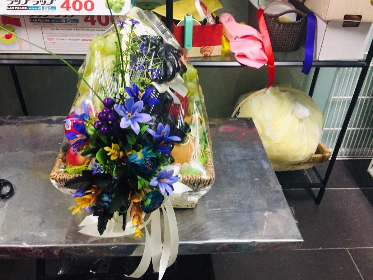 Giỏ quà trái cây đẹp FSNK52