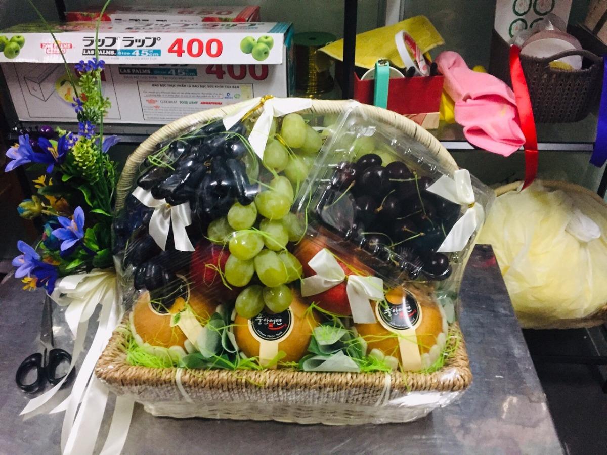 Giỏ quà trái cây cao cấp FSNK52