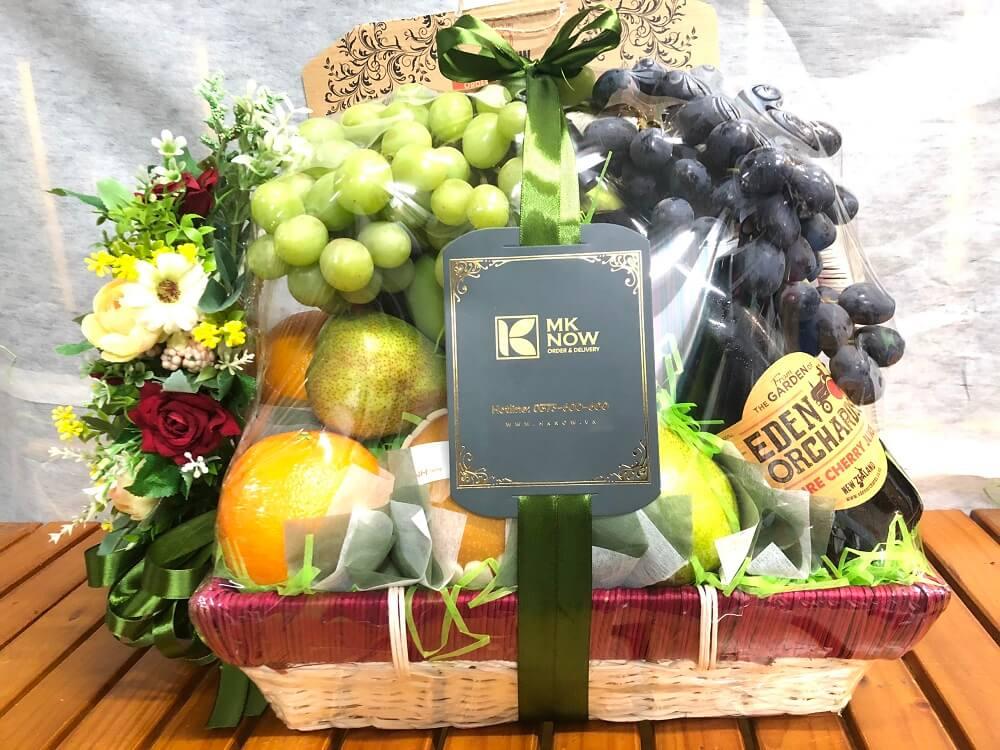 Giỏ trái cây, hộp, hamper trái cây quà tặng tập thể cán bộ tòa soạn báo chí nhân 21/6 Ngày Báo chí Cách mạng Việt Nam