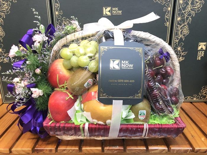 Giỏ trái cây đi viếng - FSNK154