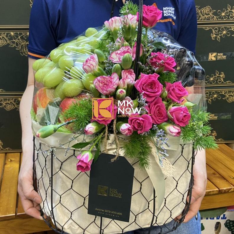 Món quà sức khỏe & đầy hương sắc tặng sinh nhật mẹ từ MKnow - Sự kết hợp tinh tế từ trái cây & hoa