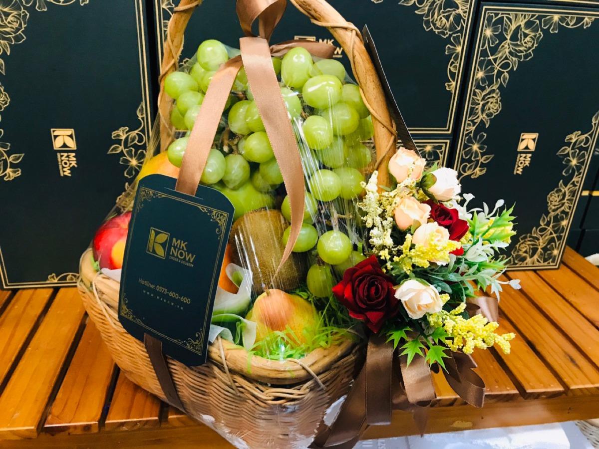 Giỏ quà tết 2021 từ MKnow - 100% trái cây nhập khẩu tươi ngon và 'chất' được chọn làm quà Tết sức khỏe, sung túc
