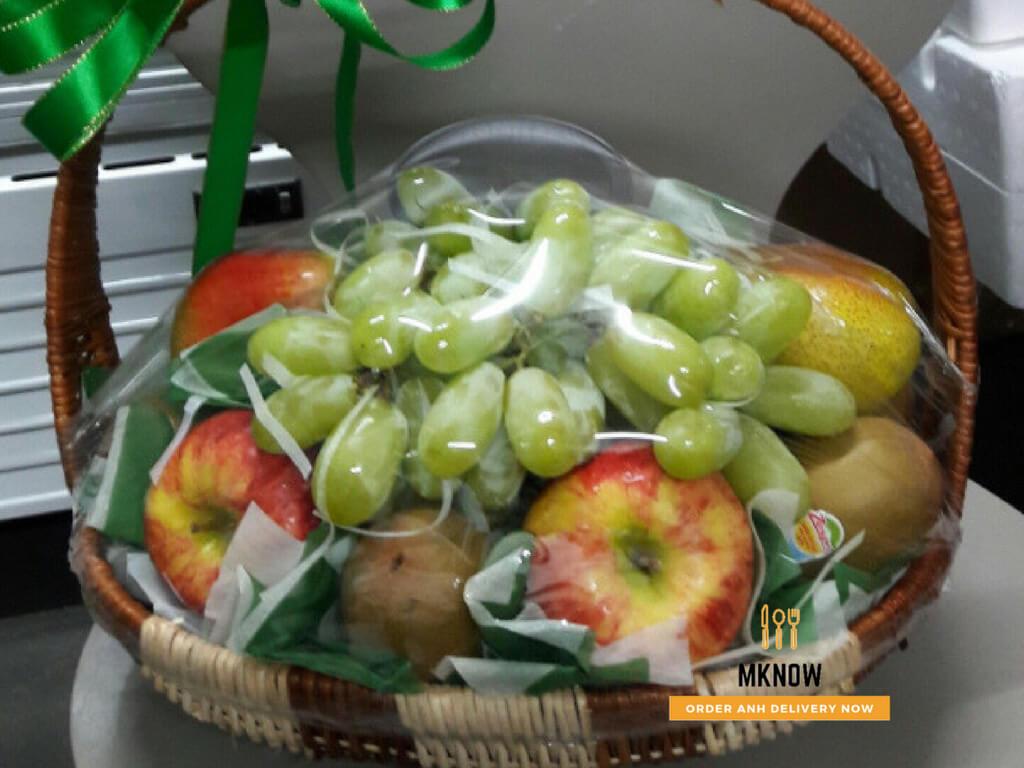 Giỏ trái cây 20/10: Giỏ trái cây nhập khẩu cao cấp - Quà tặng ý nghĩa cho mẹ, cô giáo, bạn gái, sếp nữ, đồng nghiệp nữ