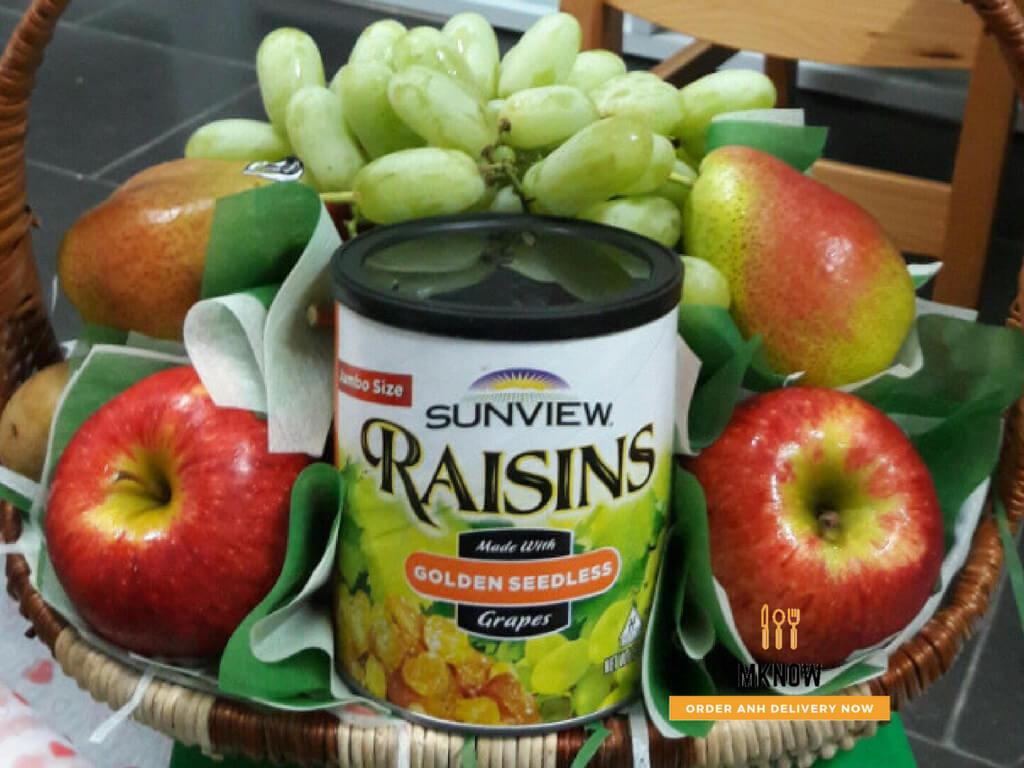 Giỏ trái cây 20/10: Giỏ trái cây nhập khẩu cao cấp - Quà tặng ý nghĩa cho mẹ, cô giáo, bạn gái, sếp nữ, đồng nghiệp nữ 2