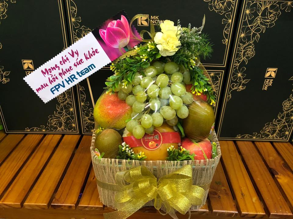 Hamper trái cây chúc sức khỏe - FSNK155