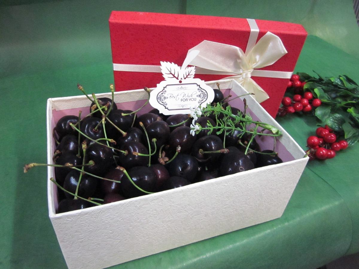 Hộp quà Cherry trung hình chữ nhật - FSNK48