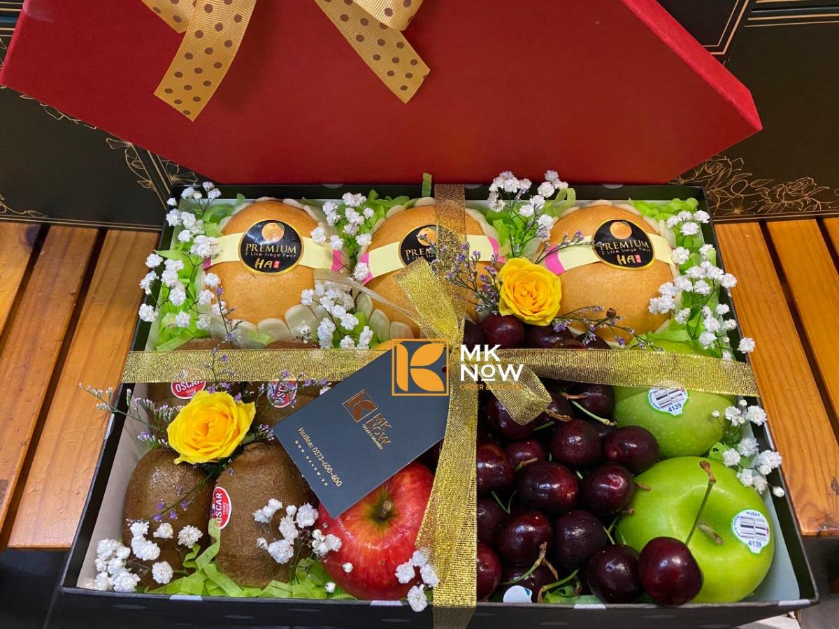 Hộp quà hoa quả nhập khẩu - FSNK227