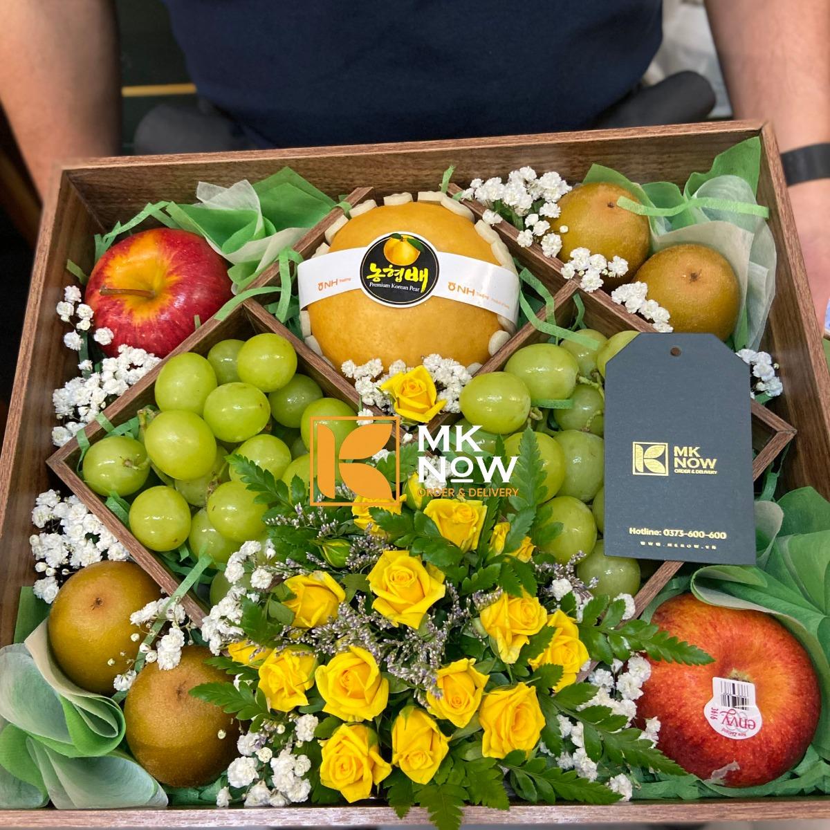 Tặng quà gì ngày 27/2 - Mua quà gì ngày 27/2 - MKnow quà trái cây nhập khẩu TPHCM