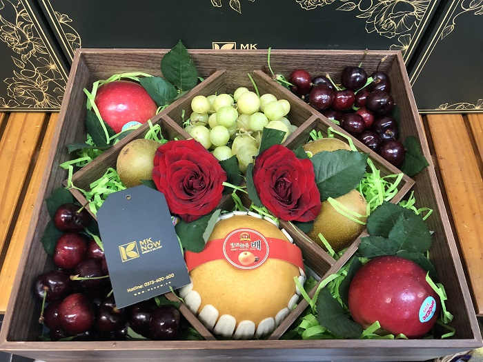 Hộp quà trái cây phong cách Vintage - FSNK152