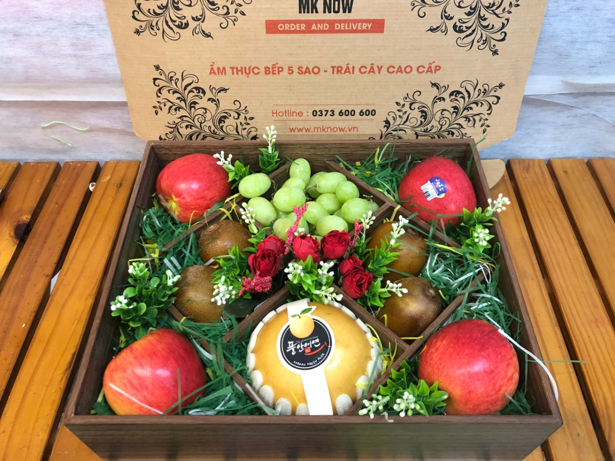 Hộp trái cây quà tặng Giáng Sinh - FSNK103