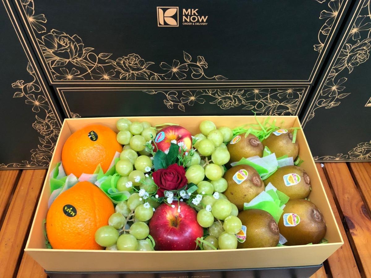 Hộp quà trái cây tặng MKnow - FSNK145